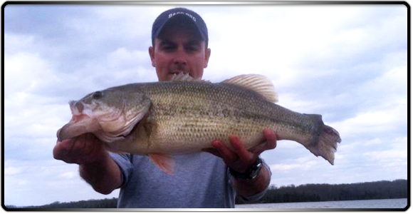 old hickory lake guide service ian huey meet your guide